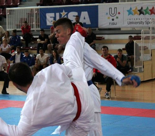 EUC Karate 2017 with 222 athletes competing
