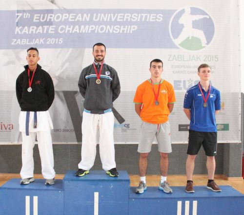 European Universities Karate Championship 2015